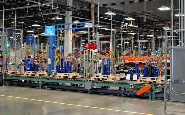 ダイキン工業の中長期的な成長は米国事業が左右しそうだ(テキサス州の空調工場)