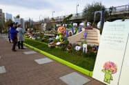 2017年は「全国都市緑化よこはまフェア」など大型イベントも多かった(17年3月、横浜市)