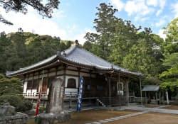 1990年に再建された補陀洛山寺の本堂(和歌山県那智勝浦町)