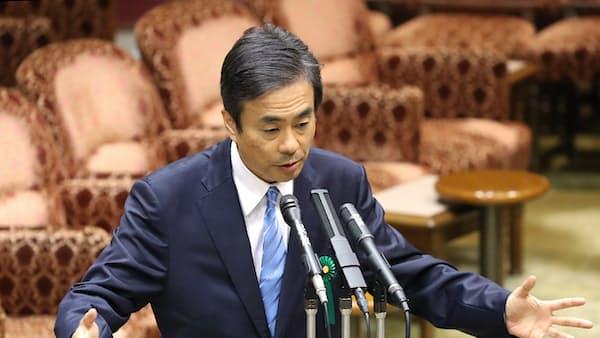 経産省審議官の柳瀬氏、退任 加計問題で参考人招致