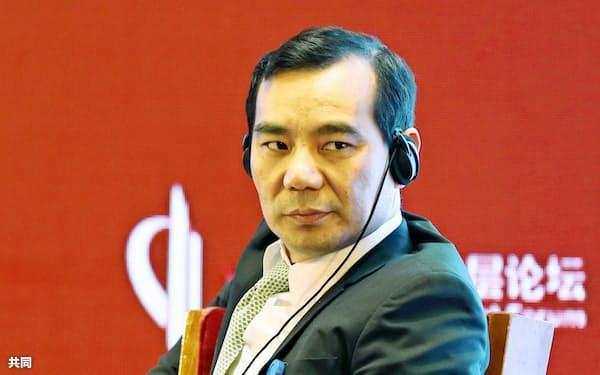 安邦保険集団の創業トップだった呉小暉氏(17年3月、北京)=共同