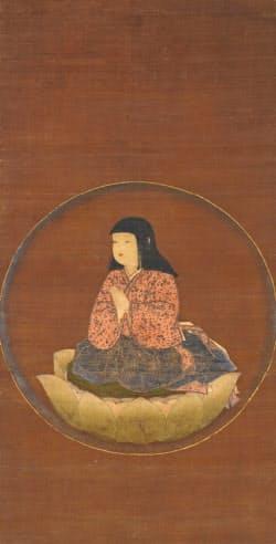 「稚児大師像」(鎌倉時代)
