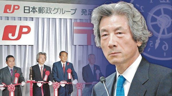 「官から民へ」の挑戦 小泉首相vs族議員