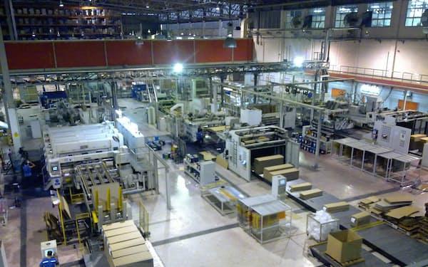 王子HDは東南アジアで段ボール工場を相次ぎ増設している(マレーシア)
