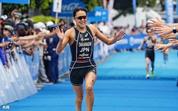 女子で日本勢最高の15位だった高橋侑子(12日、横浜市)=共同
