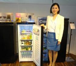 用途に応じて温度を選べる冷蔵庫「クールキャビネット」