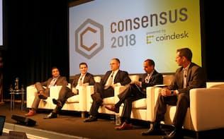 仮想通貨イベントで米規制当局関係者が規制のあり方について議論した(ニューヨーク)