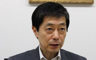 第三者委員会の中村直人委員長(17日、東京・千代田)