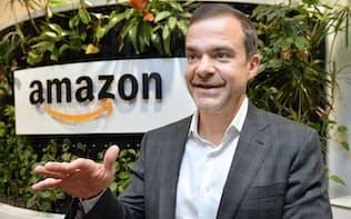 米アマゾン・ドット・コム消費者部門責任者のジェフ・ウィルケ氏