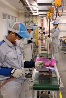 ベトナム工場には1万人の技術者を育成する「道場」を設けた