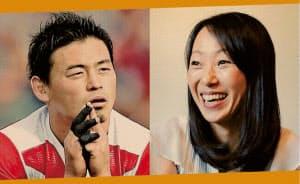 荒木香織さん(右)は五郎丸歩選手らラグビー日本代表のメンタルを支えた