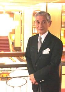石原峻さんは「キャリア50年」の人と接するプロだ(帝国ホテル)