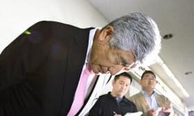 反則タックル問題で、日大の内田正人監督は19日に辞任を表明した