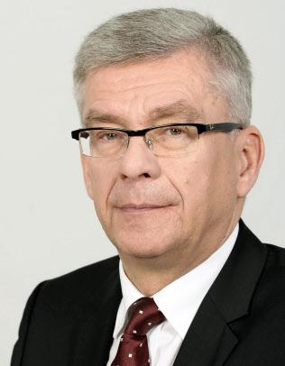 ポーランド与党幹部のスタニスワフ・カルチェフスキ上院議長(上院事務局提供)