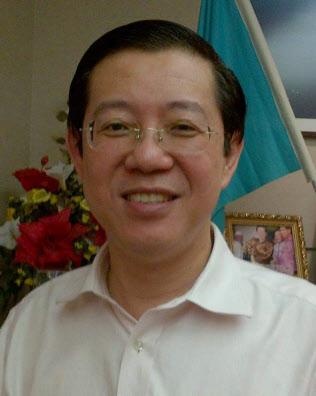 財務相に起用される民主行動党(DAP)幹事長のリム・グアンエン氏