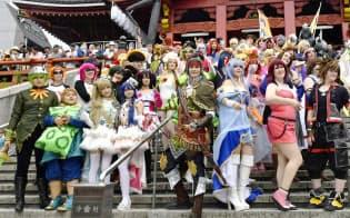 アニメは日本が誇る輸出品だ=共同
