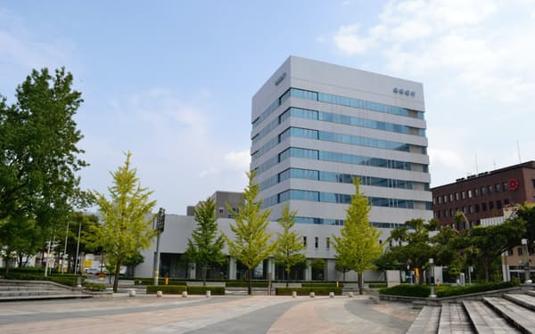鳥取市の鳥取銀行本店