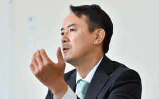 ヤフーの副社長兼CEO、川辺健太郎氏。6月に社長兼CEOに就任する