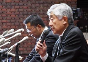 関東学生連盟は日大アメフト部の内田前監督(右)と井上元コーチを「除名」にした