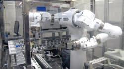 筑波大学などはヒト型ロボでドーピング検査を自動化する技術を開発した