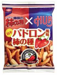 「亀田の柿の種 パドロン風味」