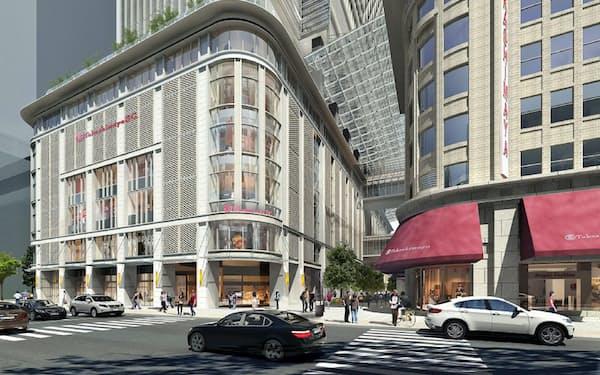 高島屋が9月25日に開業する日本橋店(東京・中央)の新館(イメージ)