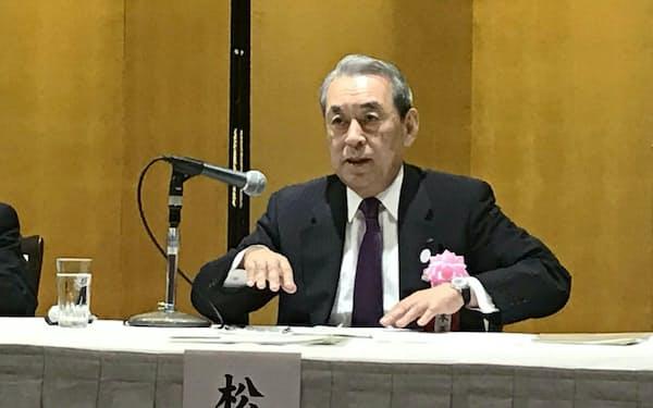 2年目を迎えた関経連の松本正義会長