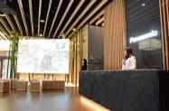 パナソニックがメディア向けに公開した松下記念館(30日、北京市)