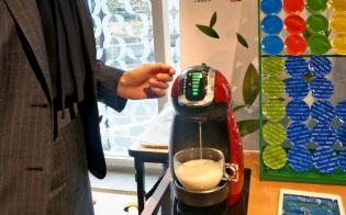 ネスレ日本は顧客の問題発見を全社的に進めている(コーヒーマシンの家庭向け無償貸し出しサービス)