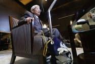 生前葬が話題となった(17年12月11日、東京都港区)