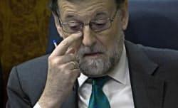 スペインのラホイ首相=AP