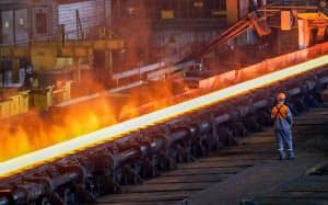 ベルギーの製鉄所=ロイター
