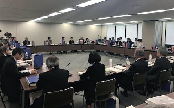 日本年金機構は4日の社会保障審議会に再発防止策を示した(東京・霞が関)