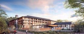 2021年度下期に開業する「ホテルインディゴ犬山有楽苑」(イメージ図)