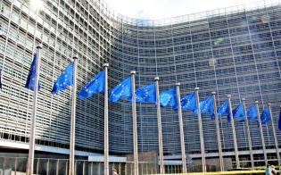 欧州連合は個人データ保護ルールを厳しくした(ブリュッセルの欧州委員会本部=共同)