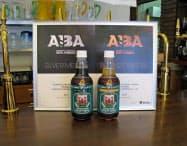 黒ビール(左)とヴァイツェンがダブル受賞した