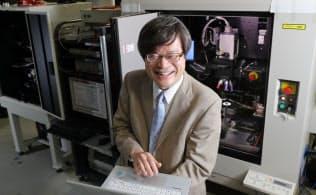 研究にAIを取り入れた天野名古屋大教授(名古屋市千種区)