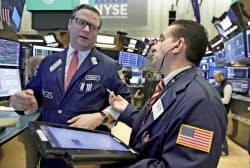 米株は大幅に反発した=AP