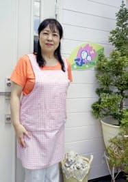 「マナ助産院」の永原郁子院長(神戸市)=共同