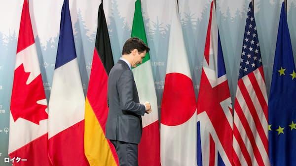 G7、貿易戦争のリスク トランプ氏「自動車にも関税」
