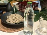 富山県砺波市の軟水にやや強めの炭酸を加えた