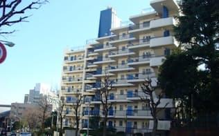 対象となる見込みのマンションは都内に約1万4000棟ある(東京都新宿区)