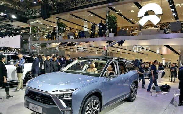 年内に本格発売するSUV「es8」(4月の北京モーターショー)
