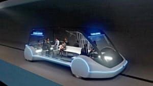 テスラのモデルXを元にデザインした電気自動車「エレクトリック・スケーツ」=ボーリング提供