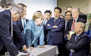 ドイツ連邦政府提供・AP