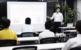 スペイシーの開く貸会議室開業セミナーには、民泊運営者の参加が増えている(都内)