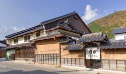 ホテルなどが入ったNOTEの複合施設(兵庫県朝来市)