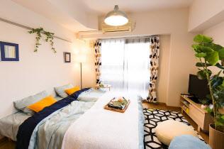 民泊用に貸し出す名古屋市内のマンションの一室