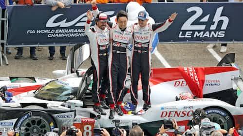 トヨタ、オール日本で初制覇 ルマン24時間レース