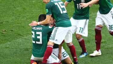 メキシコ、周到に磨いた堅守速攻 王者ドイツ振り切る